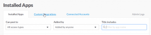 Configure Slack incoming webhooks