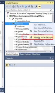 Redirect Web Visitors in Nuget