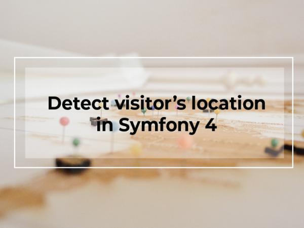 How to detect the location from a visitor's IP using the Free IP2Location™ LITE Database in Symfony 4